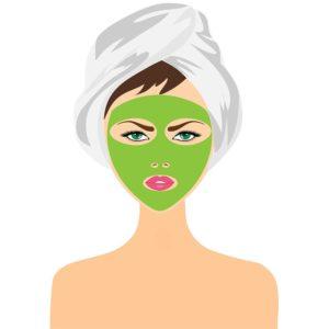 acne honey mask